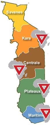 Notre présence au Togo