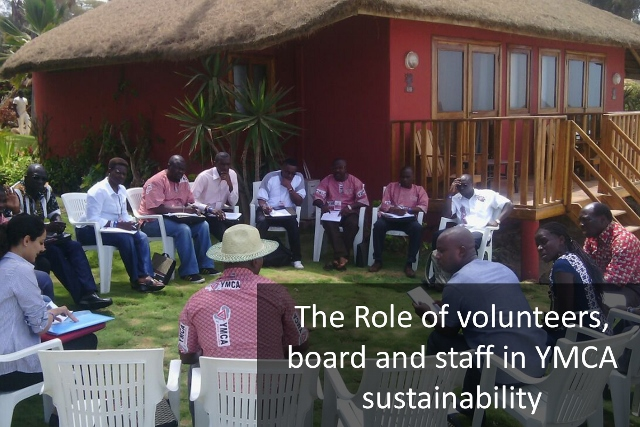 The Role of Volunteers, Board and Staff in YMCA Sustainability