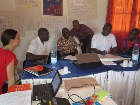 ICS volunteers programme start-up workshop