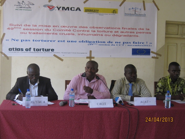 Togo YMCA works to eradicate torture