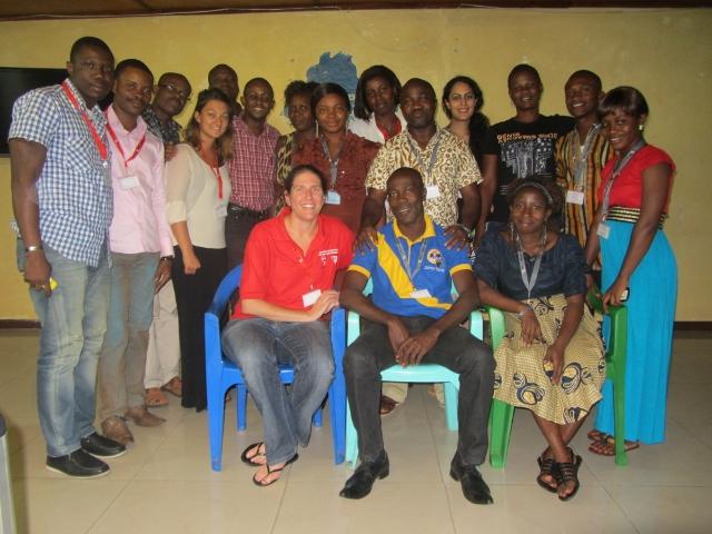 Evaluation à mi-parcours du projet «  jeunes et développement dans les bidonvilles », un atelier de cinq jours a réuni  les acteurs à Monrovia au Liberia