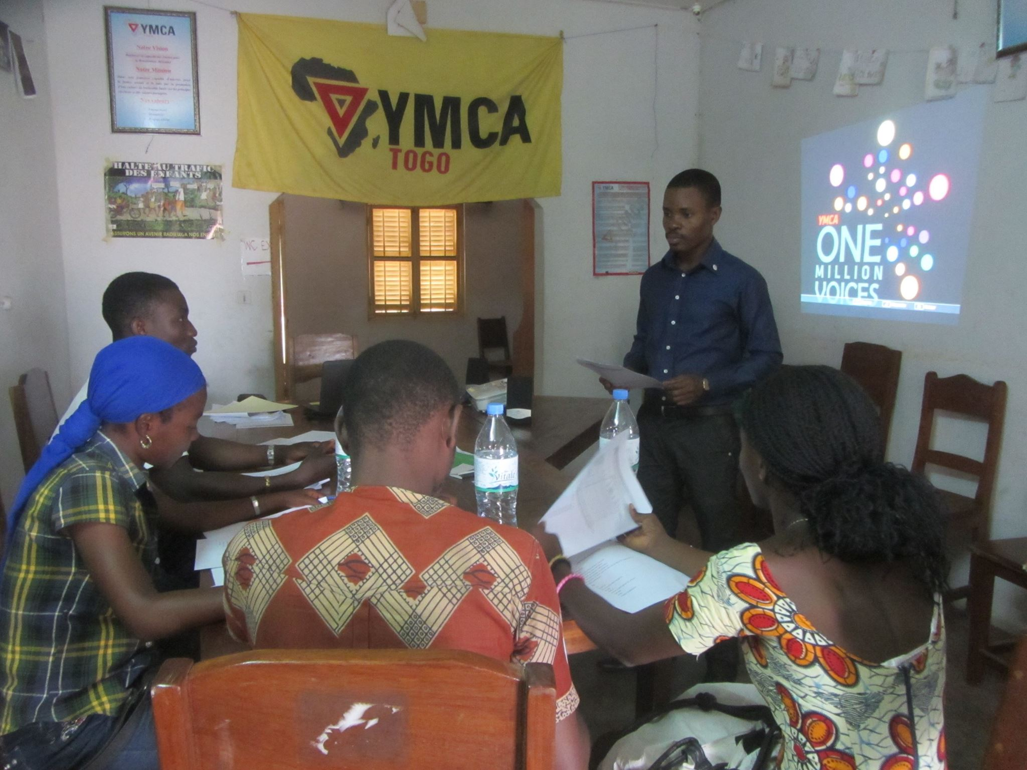 YMCA Togo participe activement au projet «one million voices » initié par l'Alliance universelle des YMCA