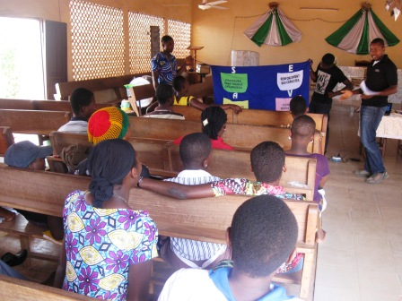 Togo-ymca addresses sexually transmitted infections and hiv through churches and mosques