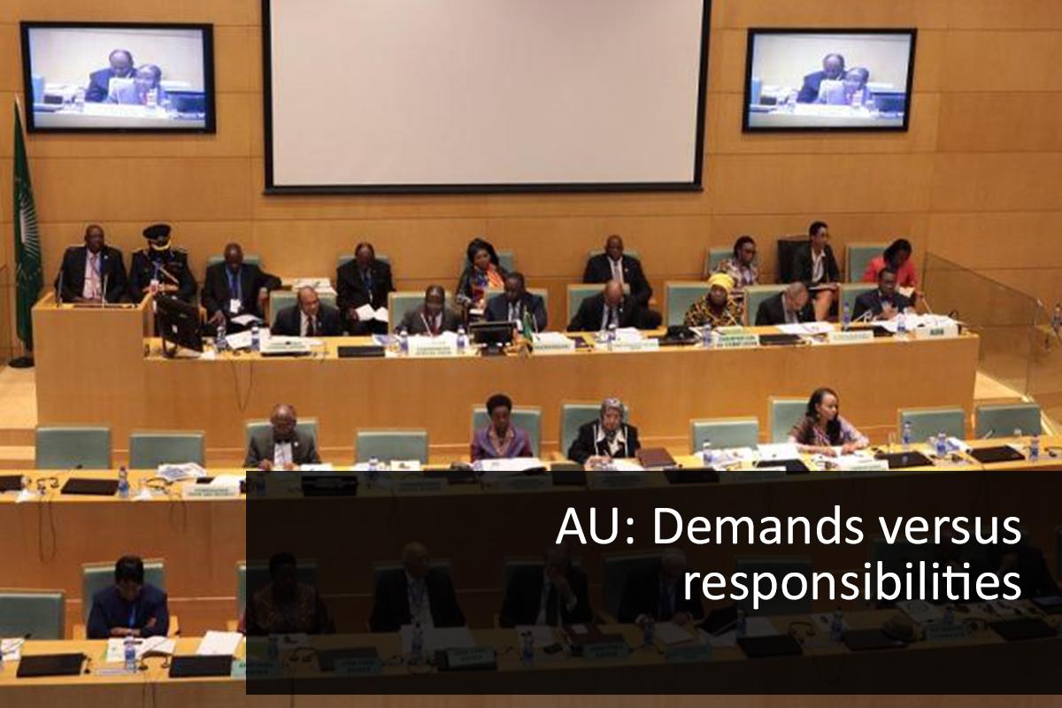 AU Demands versus responsibilities