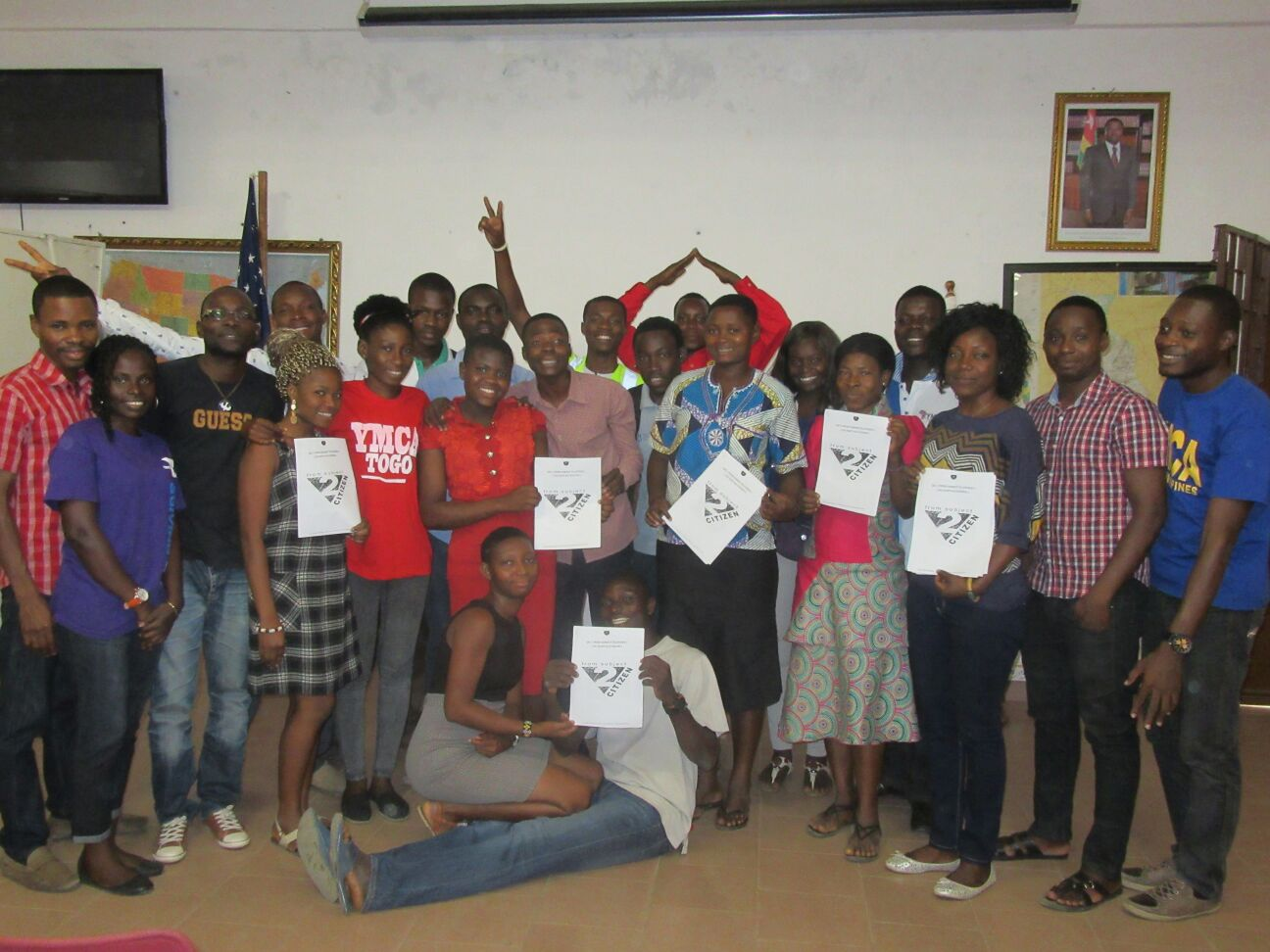 En vue de la renaissance africaine, YMCA-Togo renforce la capacité des jeunes leaders des branches locales