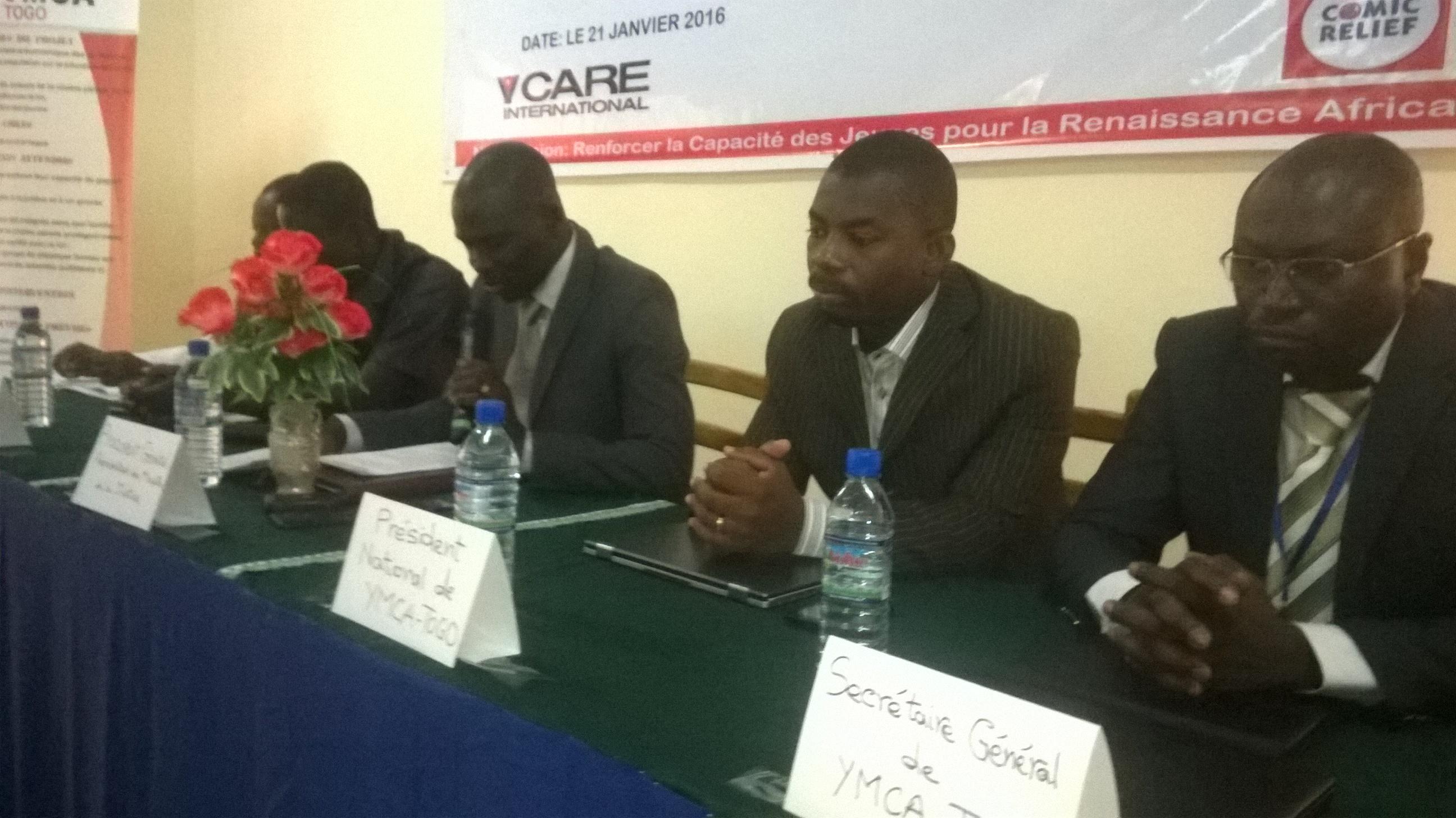 Le YMCA a officiellement lancé son projet «Protection et Réhabilitation de Jeunes Vulnérables au Togo» à Kara