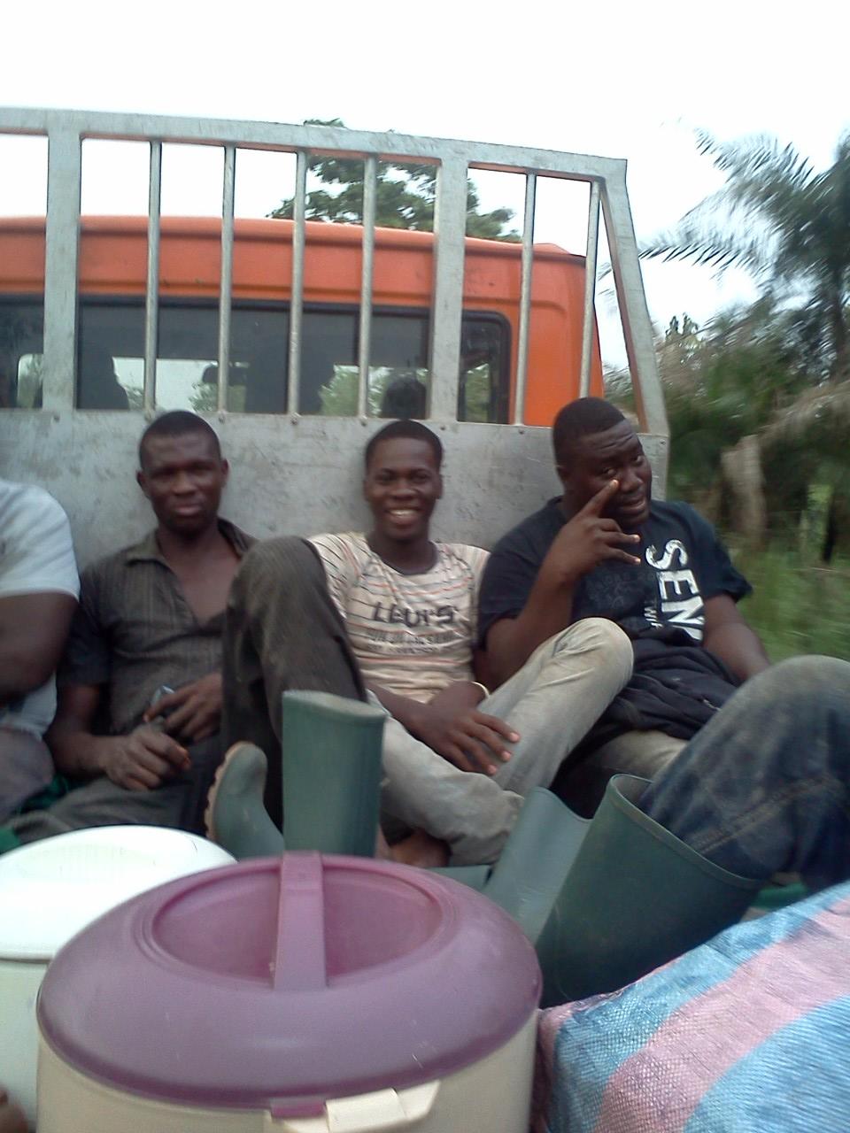 entrepreneuriat agricole, initiative de Dela, Geovani et Edoh, trois jeunes formés par le YMCA
