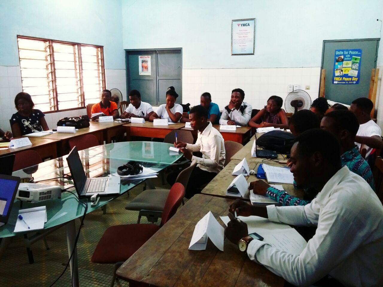 Le YMCA renforce les capacités de leadership de ses membres : l'Union Locale Wisdom à l'école de la vision et des valeurs du YMCA-Togo
