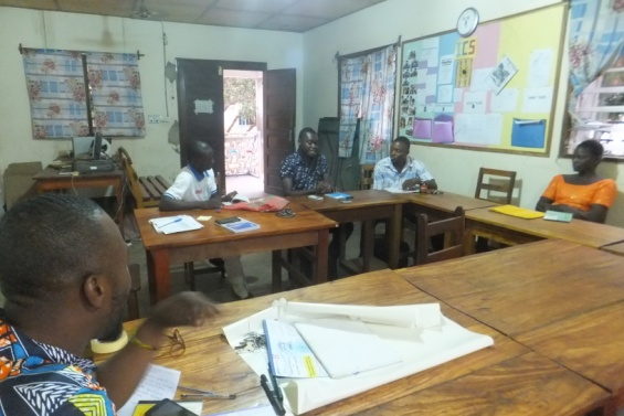 Le YMCA renforce les acteurs de sa clinique juridique: les parajuristes de Sokodé complètent leur formation en droit civil, droit pénal, les infractions et peines encourues.