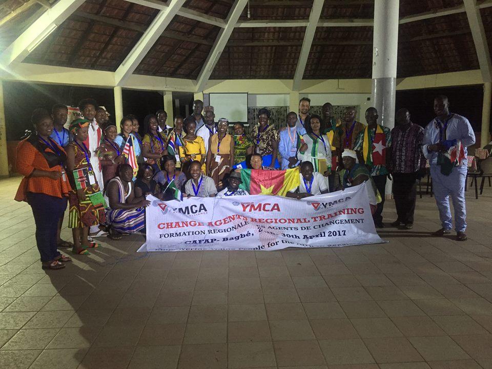 FORMATION RÉGIONALE DES AGENTS DE CHANGEMENT: JEUNES LEADERS AFRICAINS DE YMCA ENGAGÉS POUR LA RENAISSANCE AFRICAINE