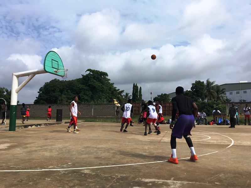 Mieux connaître les infractions et les peines encourues: Forte sensibilisation des jeunes autour d'un tournoi de Basketball, initiative de l'Union Locale Wisdom / YMCA-Togo