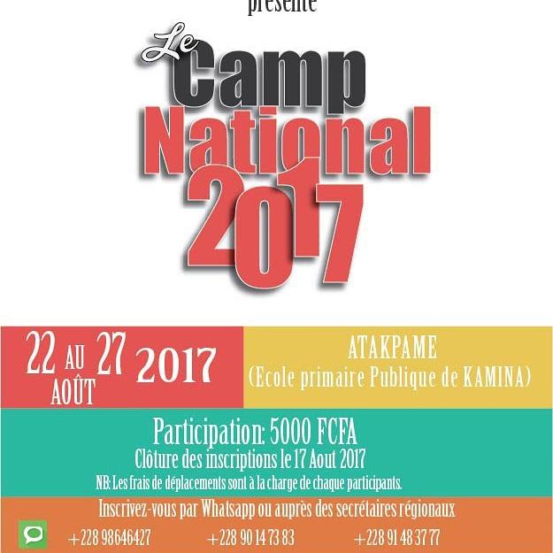 CAMP NATIONAL DES JEUNES