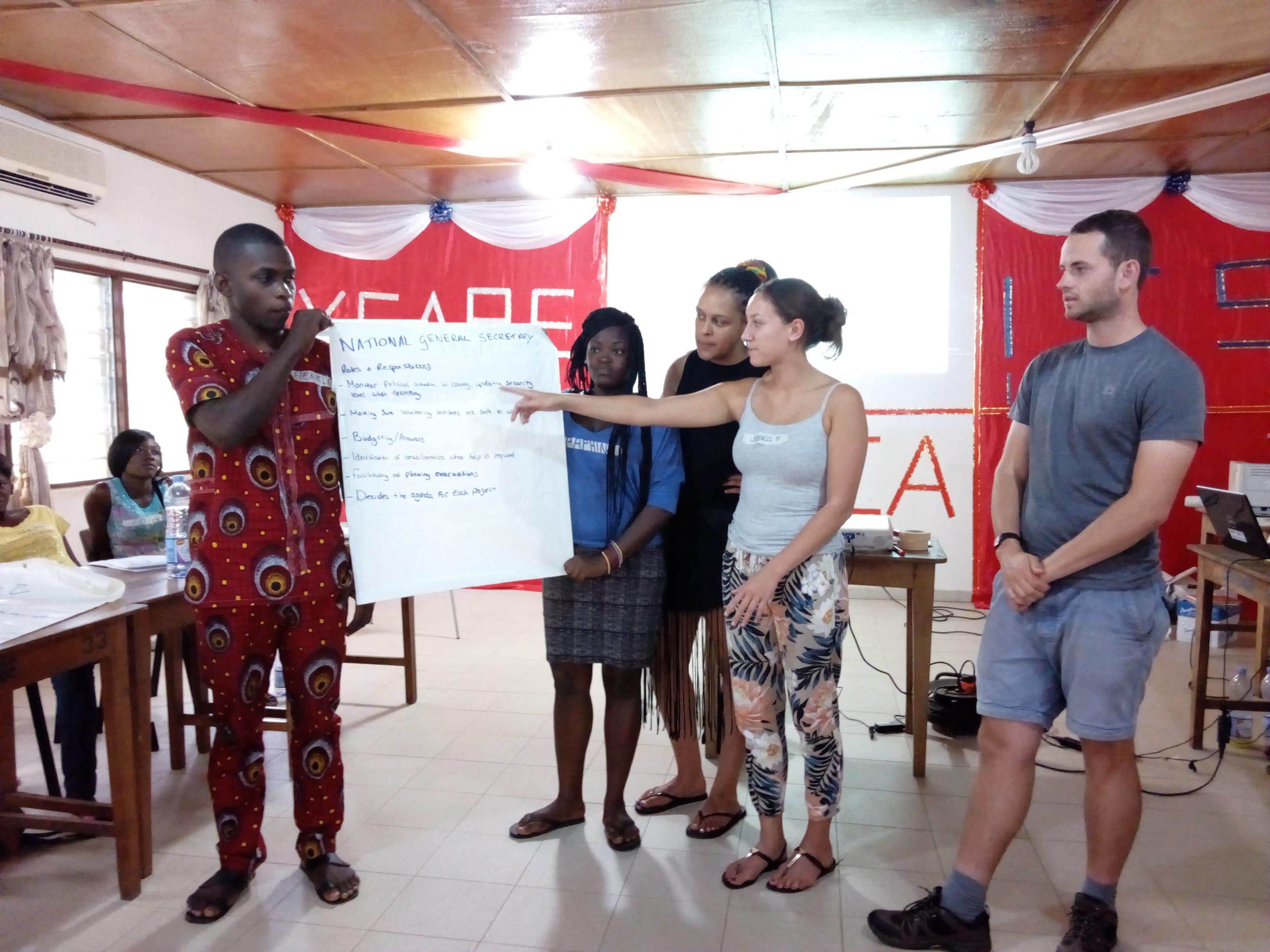 YMCA-TOGO accueille et forme la nouvelle vague des volontaires ICS3