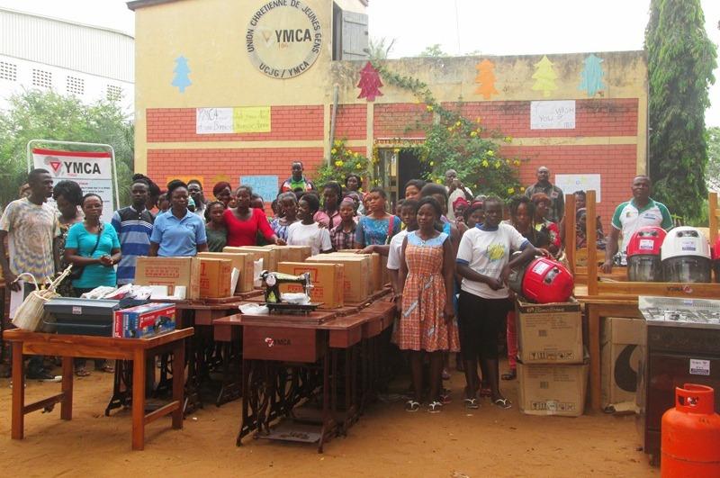 YMCA-Togo accompagne 38 jeunes vulnérables en fin de formation