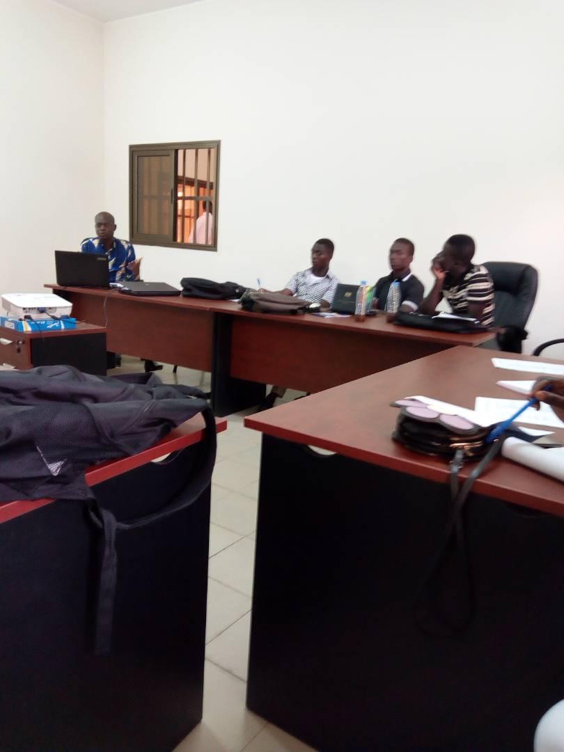 YMCA-Togo renforce la capacité  des membres de la clinique juridique