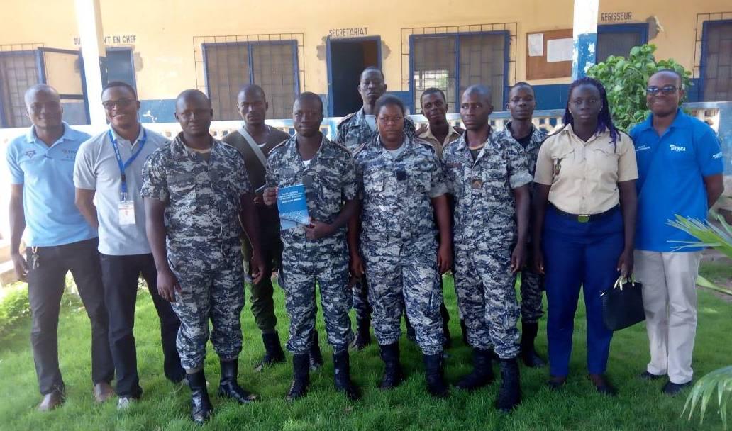 Campagne «Dignité»: le YMCA renforce la capacité des Surveillants de l'Administration Pénitentiaire de la prison civile de Sokodé sur les Règles Nelson Mandela
