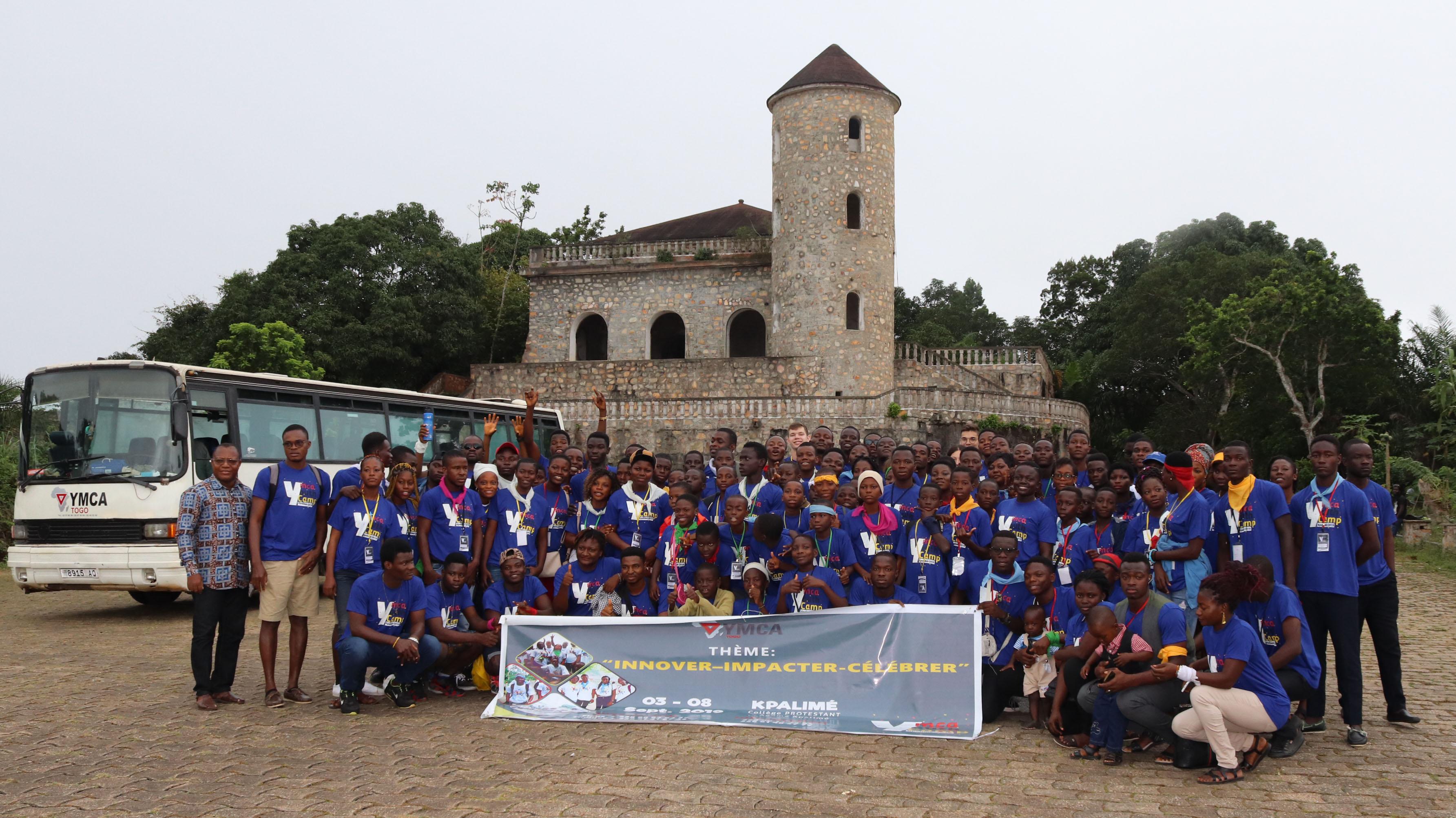 Promotion de l'innovation et de la culture d'impact de 135 jeunes à travers le Camp National de jeunes de YMCA-Togo